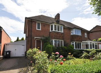 Thumbnail 3 bed semi-detached house for sale in Cornfield Road, Bournville Village Trust, Northfield