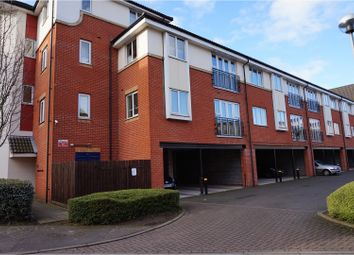 Thumbnail 2 bed flat for sale in Barnsdale Close, Loughborough