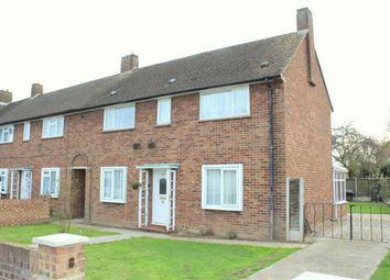 Thumbnail 3 bed end terrace house for sale in St Annes Avenue, Stanwell, Surrey