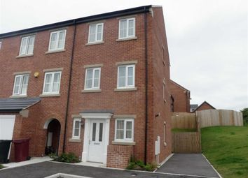 Thumbnail 4 bedroom town house to rent in Southdown Close, Doe Lea, Chesterfield