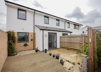 Thumbnail 3 bedroom end terrace house for sale in Miller Way, Fengate, Peterborough