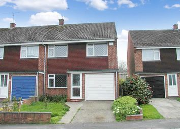 Thumbnail 3 bed semi-detached house to rent in Epsom Crescent, Newbury, Berkshire