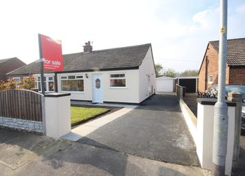 Thumbnail 2 bed semi-detached bungalow for sale in Old Hall Drive, Bamber Bridge, Preston