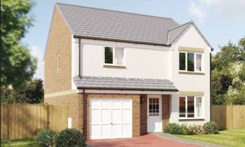 "Thumbnail 4 bed detached house for sale in ""The Balerno II"" at Gatehead Crescent, Bishopton"