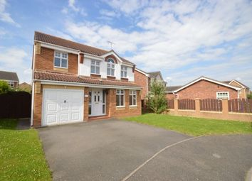 Thumbnail 4 bed detached house to rent in Warwick Close, Saxilby, Lincoln