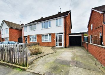 Thumbnail 3 bed semi-detached house for sale in Prince Albert Drive, Glenfield, Leicester