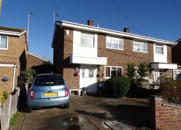 Thumbnail 2 bed semi-detached house for sale in Harvest Road, Canvey Island
