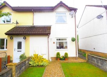 Thumbnail 2 bed semi-detached house for sale in Llys Cynon, Hirwaun, Aberdare