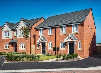 "Thumbnail 3 bed semi-detached house for sale in ""Beeley"" at Starflower Way, Mickleover, Derby"