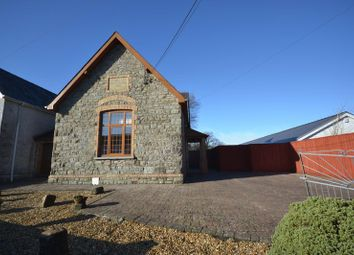Thumbnail 3 bed detached house to rent in School Road, Llangain, Carmarthen