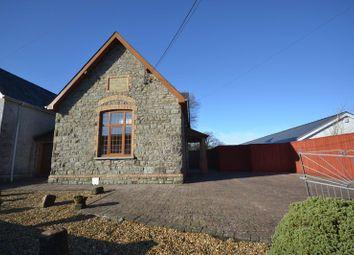 Thumbnail 3 bedroom detached house to rent in School Road, Llangain, Carmarthen