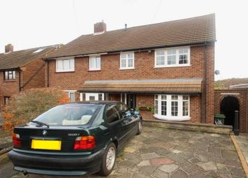 Thumbnail 4 bed semi-detached house for sale in Foxbury Drive, Chelsfield