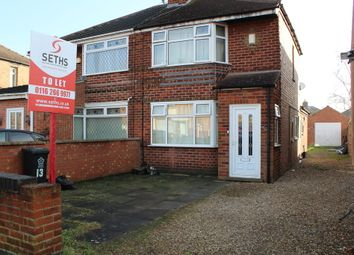 Thumbnail 3 bedroom semi-detached house to rent in Roseway, Rushey Mead, Leicester