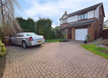 4 bed detached house for sale in Orpine Court, Ashington NE63