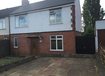 Thumbnail 3 bed semi-detached house to rent in Queen Street, Oadby, Leicester