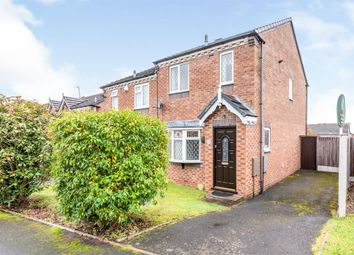 Thumbnail 3 bed semi-detached house for sale in Deavall Way, Cannock