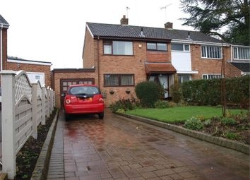Thumbnail 3 bed semi-detached house for sale in Hall Road, Rolleston-On-Dove, Burton-On-Trent, Staffordshire