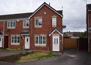 Thumbnail 3 bed end terrace house for sale in Waterdale Grove, Meir Hay, Stoke-On-Trent