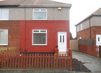 Thumbnail 2 bed semi-detached house to rent in Brierville Road, Stockton On Tees