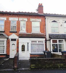 Thumbnail 2 bedroom terraced house for sale in Nineveh Road, Handsworth, Birmingham