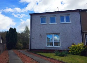 Thumbnail 3 bed end terrace house for sale in Rockfield Road, Barmulloch, Glasgow