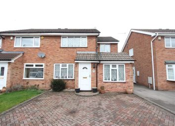 Thumbnail 3 bedroom semi-detached house for sale in Castlemaine Drive, Hinckley