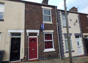 Thumbnail 2 bed terraced house to rent in Denbigh Street, Hanley, Stoke On Trent