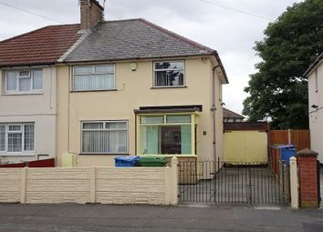 Thumbnail 3 bed semi-detached house for sale in Fairfax Road, Walton, Liverpool