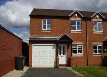 Thumbnail 3 bed semi-detached house to rent in Hilton Road, Burntwood