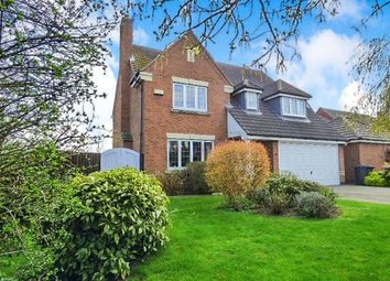 Thumbnail 4 bed detached house for sale in Buzzard Close, Broughton Astley, Leicester, Leicestershire