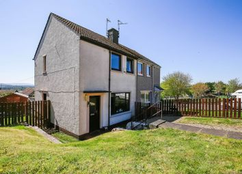 Thumbnail 2 bed semi-detached house for sale in 2 Braeside Road South, Gorebridge, Midlothian