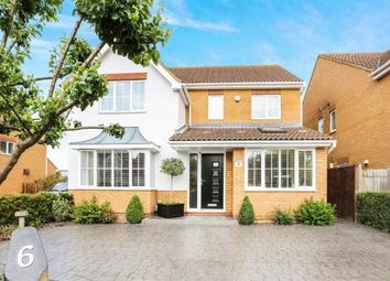 Thumbnail 4 bed detached house for sale in Pickering Close, Sandy, Bedfordshire