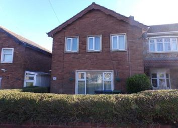 Thumbnail 3 bed semi-detached house for sale in Brindley Road, West Bromwich, West Midlands