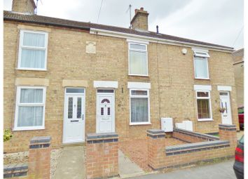 Thumbnail 2 bed terraced house for sale in Mill Road, Whittlesey, Peterborough