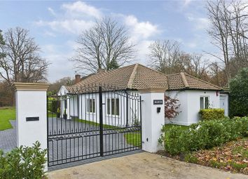 Thumbnail 3 bed detached bungalow for sale in Portsmouth Road, Cobham, Surrey