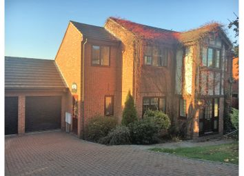 Thumbnail 4 bed detached house for sale in Rodmer Close, Minster-On-Sea