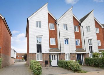 Thumbnail 3 bed town house for sale in Thomas Neame Avenue, Faversham, Kent