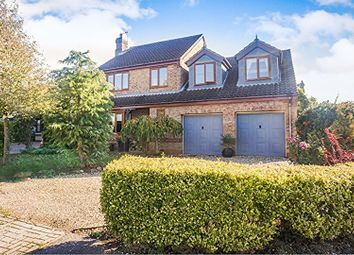 Thumbnail 4 bed detached house for sale in Field Close, Welton, Lincoln