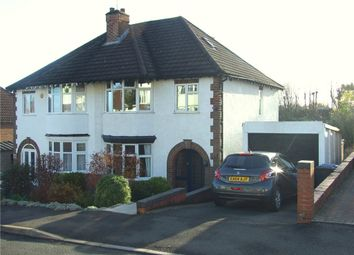 Thumbnail 4 bed semi-detached house for sale in Devonshire Avenue, Allestree, Derby