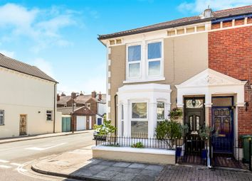 Thumbnail 3 bedroom end terrace house for sale in Collins Road, Southsea