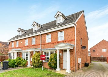 Thumbnail 4 bed town house for sale in Bayham Close, Elstow, Bedford