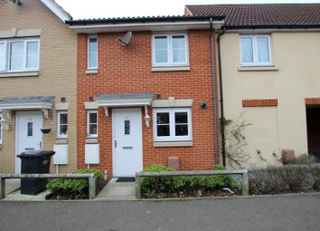 Thumbnail 2 bed terraced house for sale in Ditton Way, Ipswich