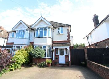 Thumbnail 4 bed semi-detached house for sale in Fountains Road, Luton