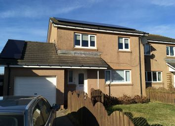 Thumbnail 3 bed semi-detached house for sale in Gordon Close, Boddam, Peterhead