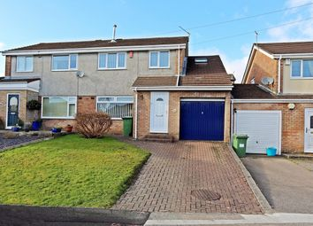 Thumbnail 4 bed semi-detached house for sale in Ty Draw, Church Village, Pontypridd