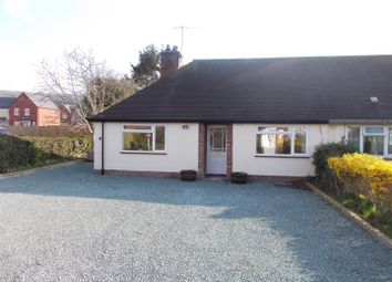 Thumbnail 2 bed bungalow for sale in Callow Crescent, Minsterley, Shrewsbury