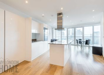 Thumbnail 1 bed flat to rent in Arena Tower, Baltimore Wharf, Canary Wharf, London
