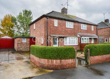 Thumbnail 2 bedroom semi-detached house for sale in Ash Road, Dogsthorpe, Peterborough