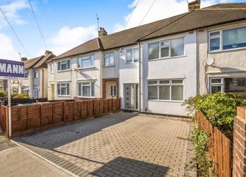Thumbnail 3 bed terraced house for sale in Mount Road, Chessington, Surrey, .