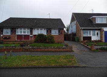 Thumbnail 2 bed semi-detached bungalow to rent in Warwick Road, Wellingborough